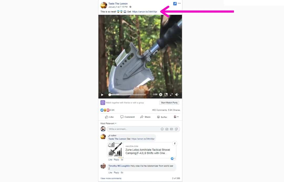 Facebook Amazon Influencer Example - Types of Influencers You''ll Find Here - Referazon