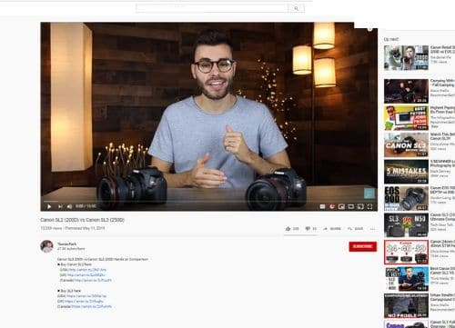 YouTube Amazon Influencer Example - Types of Amazon Influencers - Referazon