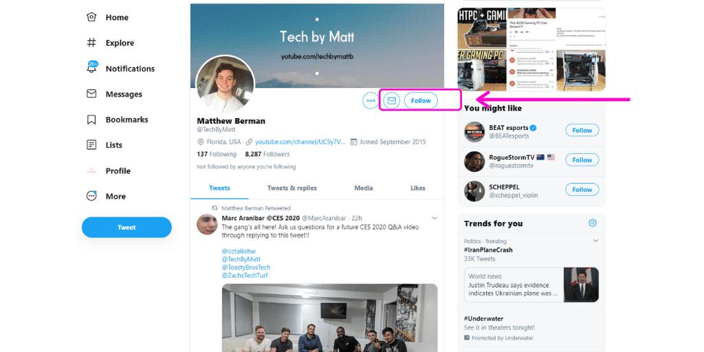 Follow on Social Media - How To - Referazon