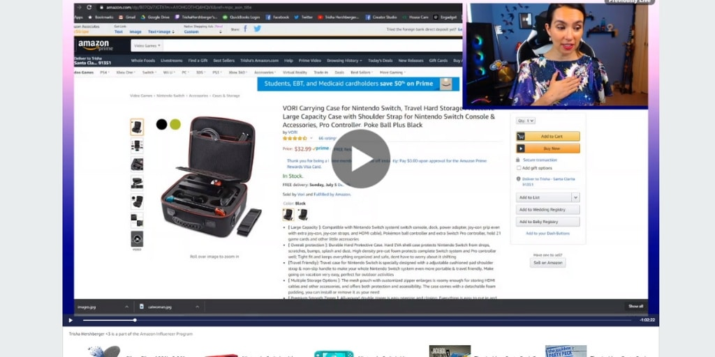 Amazon Live Influencer Example Stream - Amazon Live Influencers Everything You Need To Know - Referazon - Find Amazon Influencers Instantly