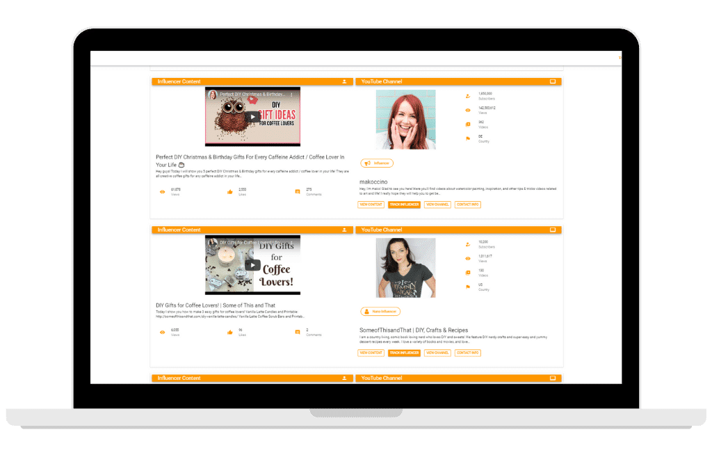 Amazon Influencer Software - Referazon - Software Screenshot