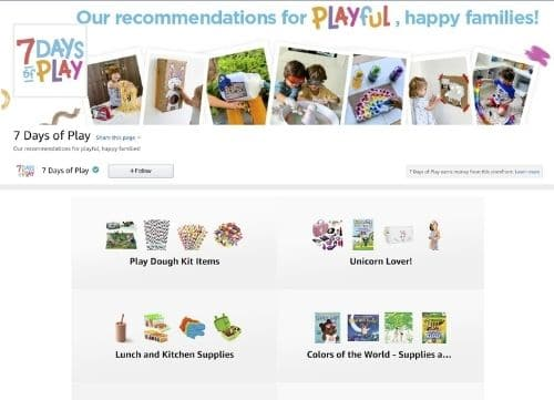 Amazon Storefront Influencers Example - Referazon